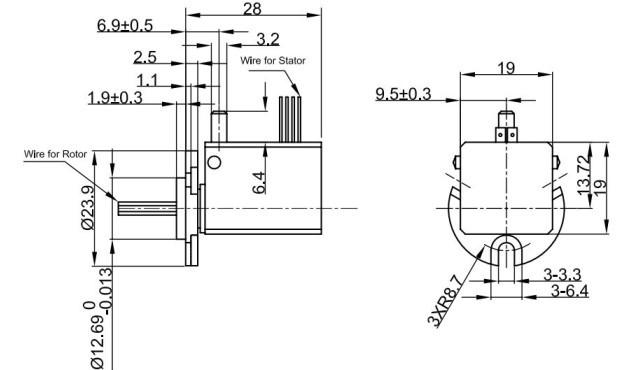 高速振镜lm3886驱动电路图