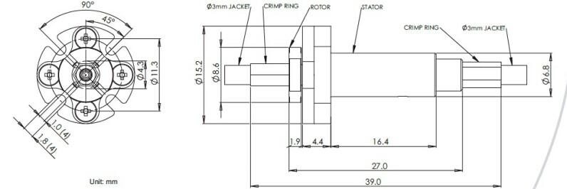 光纤滑环,光纤接头,光纤旋转接头